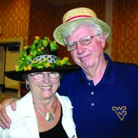 Libby and Dave Neuharth at one of CPF's famous Kentucky Derby Receptions.